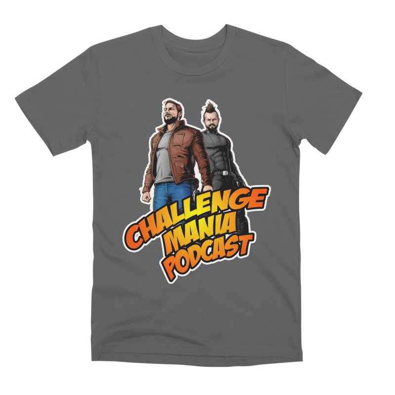 Super Hero Derrick & Scott Men's Premium T-Shirt by Challenge Mania Shop