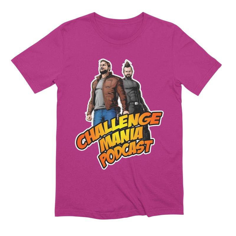 Super Hero Derrick & Scott Men's Extra Soft T-Shirt by Challenge Mania Shop