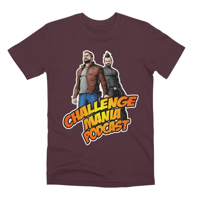 Super Hero Derrick & Scott Men's Premium T-Shirt by Challenge Mania Shop
