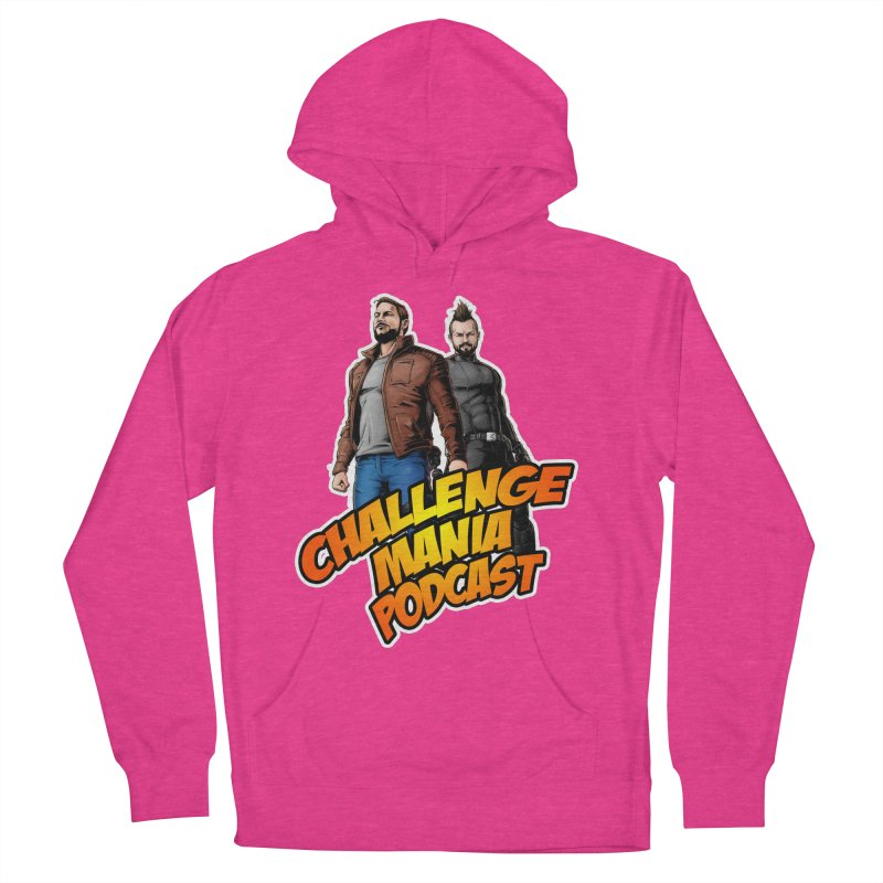 Super Hero Derrick & Scott Women's French Terry Pullover Hoody by Challenge Mania Shop