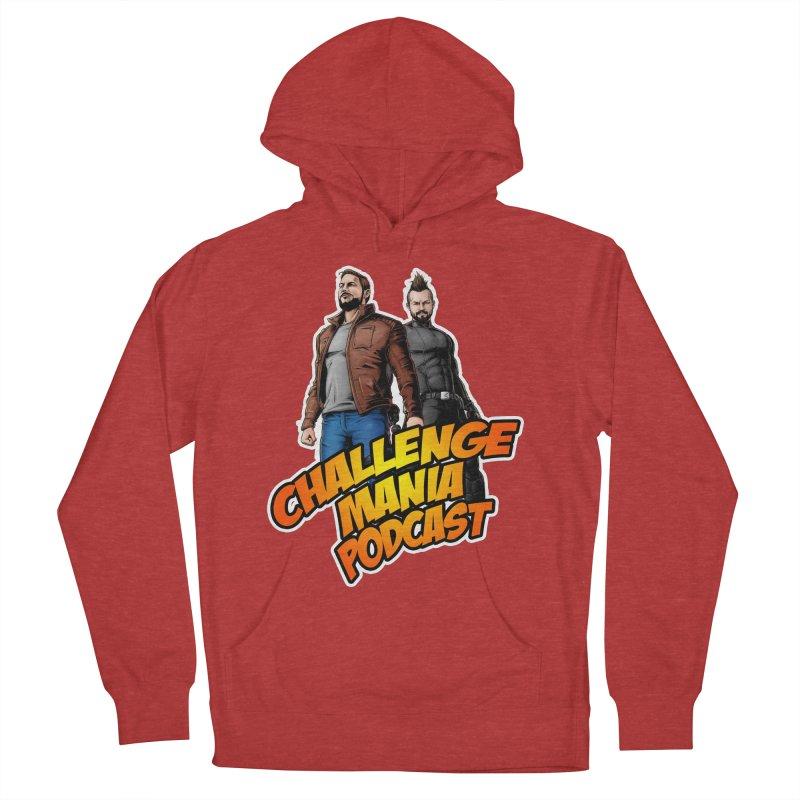 Super Hero Derrick & Scott Men's French Terry Pullover Hoody by Challenge Mania Shop