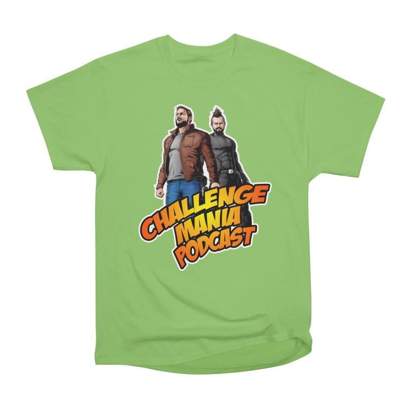 Super Hero Derrick & Scott Men's Heavyweight T-Shirt by Challenge Mania Shop