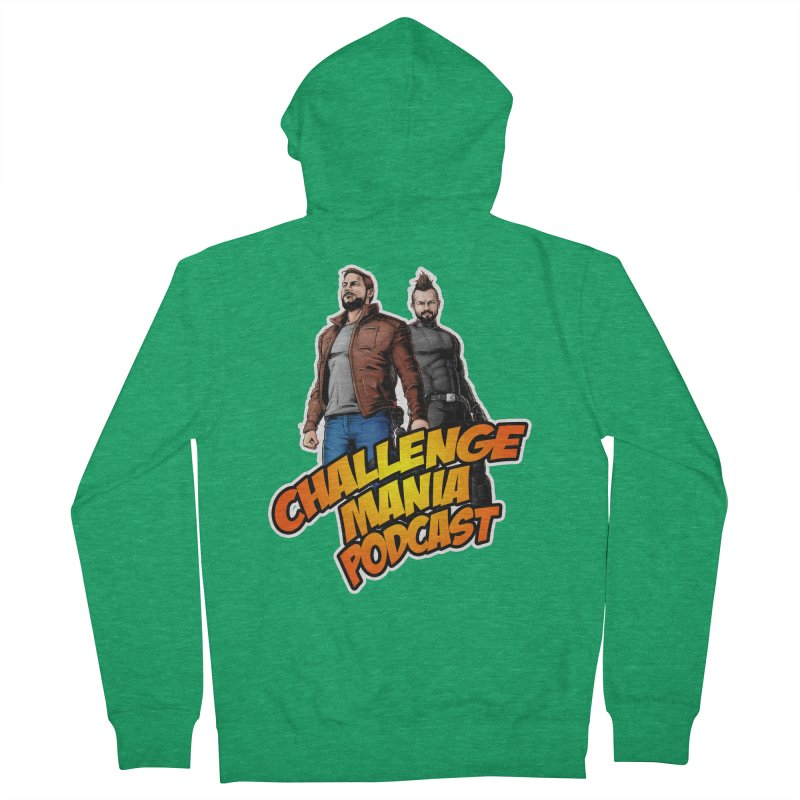 Super Hero Derrick & Scott Men's Zip-Up Hoody by Challenge Mania Shop