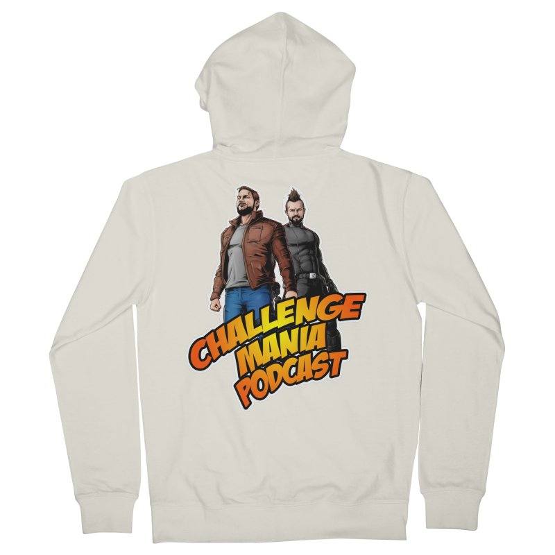Super Hero Derrick & Scott Men's French Terry Zip-Up Hoody by Challenge Mania Shop
