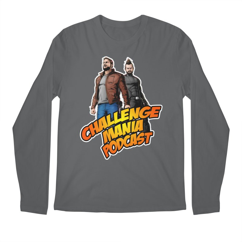 Super Hero Derrick & Scott Men's Longsleeve T-Shirt by Challenge Mania Shop