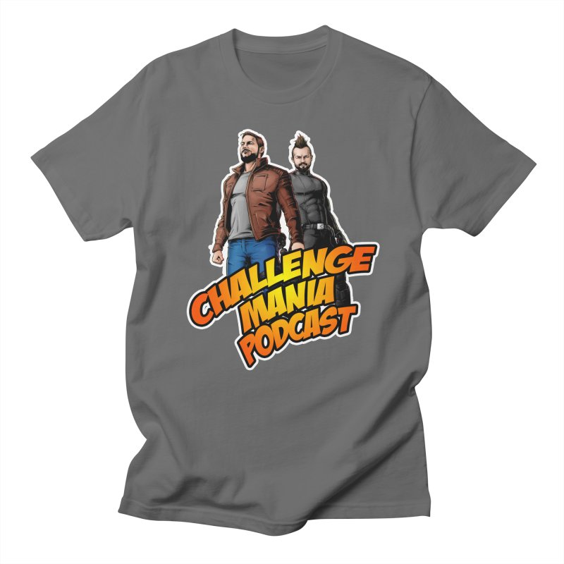 Super Hero Derrick & Scott Men's T-Shirt by Challenge Mania Shop