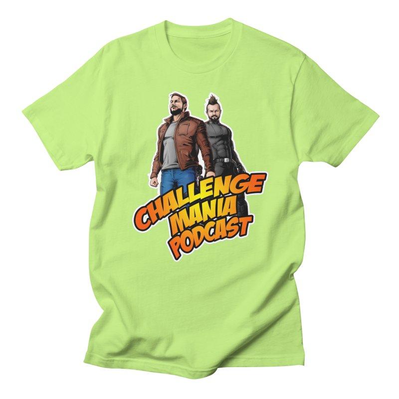 Super Hero Derrick & Scott Men's T-Shirt by Challenge Mania Shop
