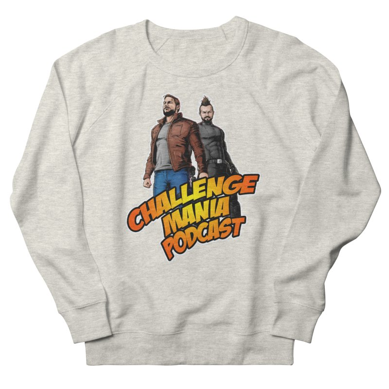 Super Hero Derrick & Scott Men's Sweatshirt by Challenge Mania Shop