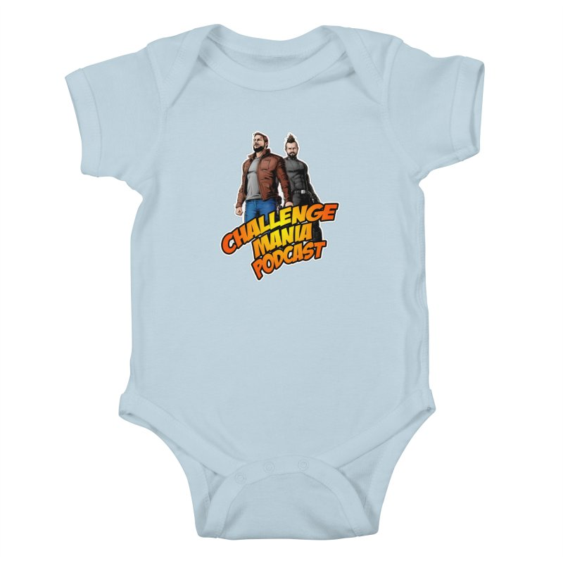 Super Hero Derrick & Scott Kids Baby Bodysuit by Challenge Mania Shop