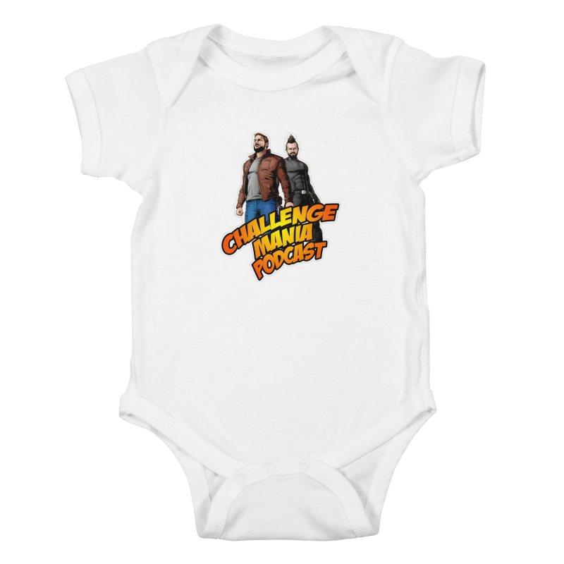 Super Hero Derrick & Scott Kids Baby Bodysuit by Challenge Mania Shop
