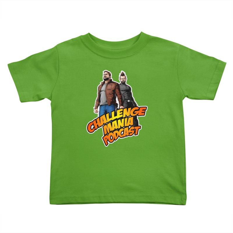 Super Hero Derrick & Scott Kids Toddler T-Shirt by Challenge Mania Shop