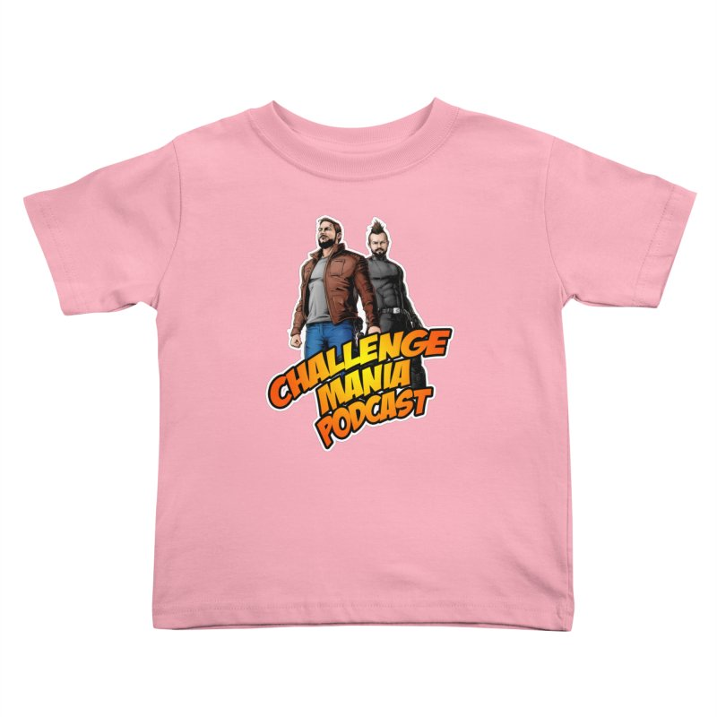 Super Hero Derrick & Scott Kids Toddler T-Shirt by Challenge Mania Shop