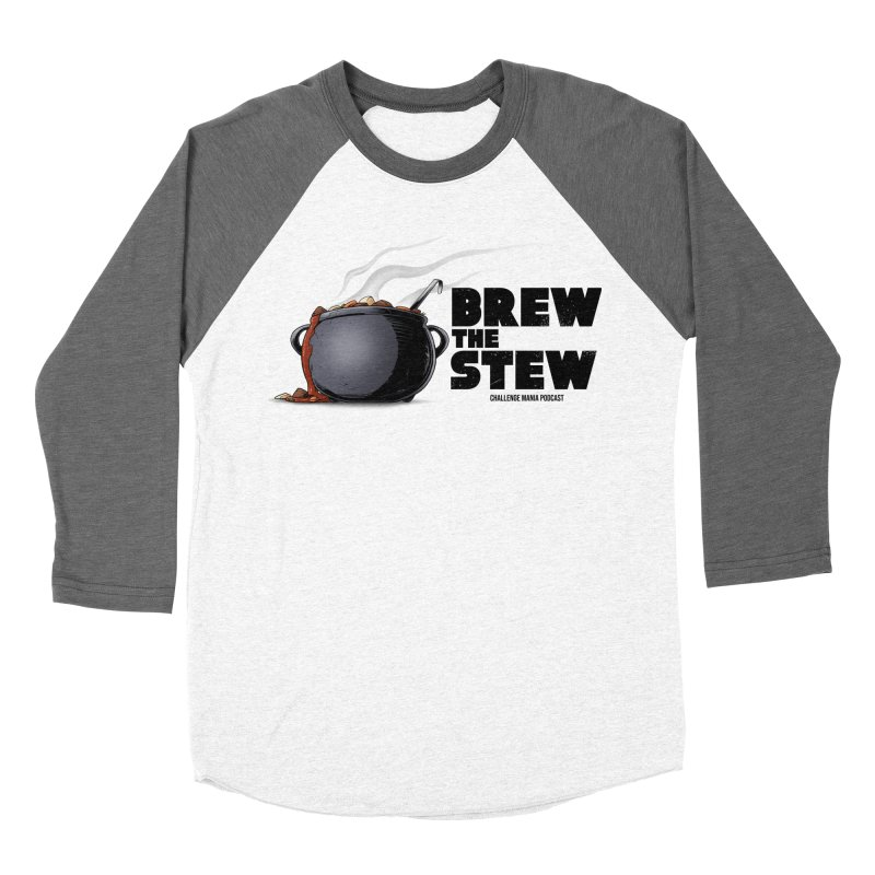 Brew the Stew Men's Baseball Triblend T-Shirt by Challenge Mania Shop