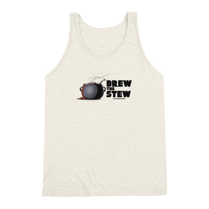 Brew the Stew Men's Triblend Tank by Challenge Mania Shop