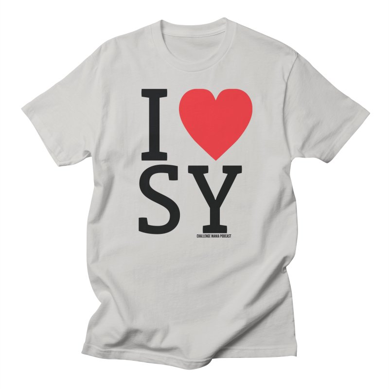 I Love SY Men's Lounge Pants by Challenge Mania Shop