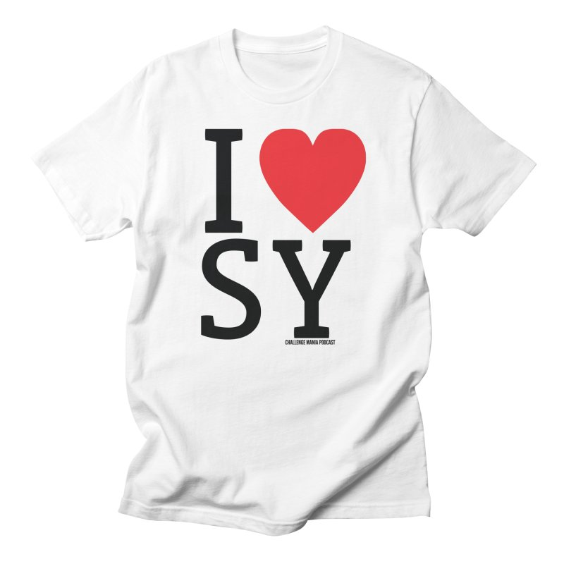 I Love SY Men's Regular T-Shirt by Challenge Mania Shop