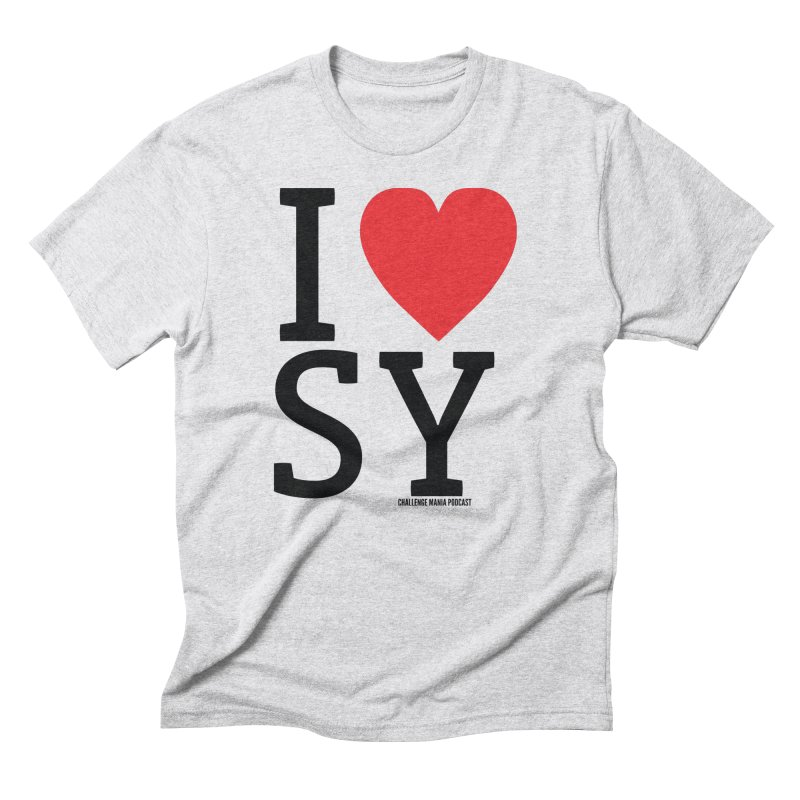 I Love SY Men's Triblend T-Shirt by Challenge Mania Shop