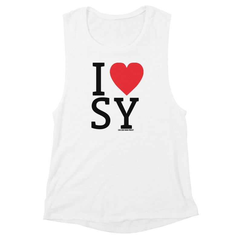 I Love SY Women's Muscle Tank by Challenge Mania Shop