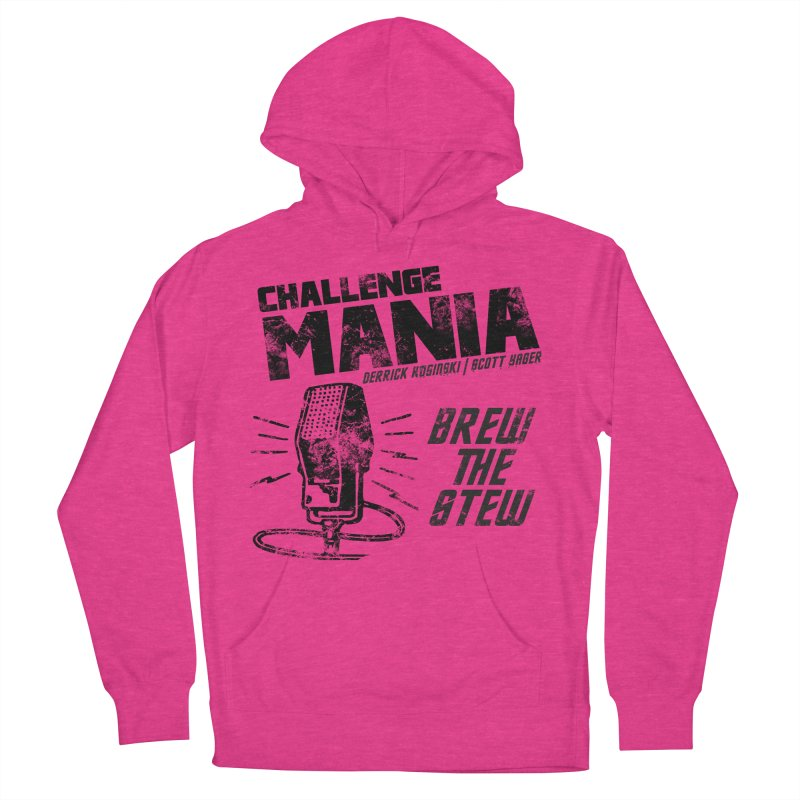Challenge Mania Vintage (Black) Men's Pullover Hoody by Challenge Mania Shop