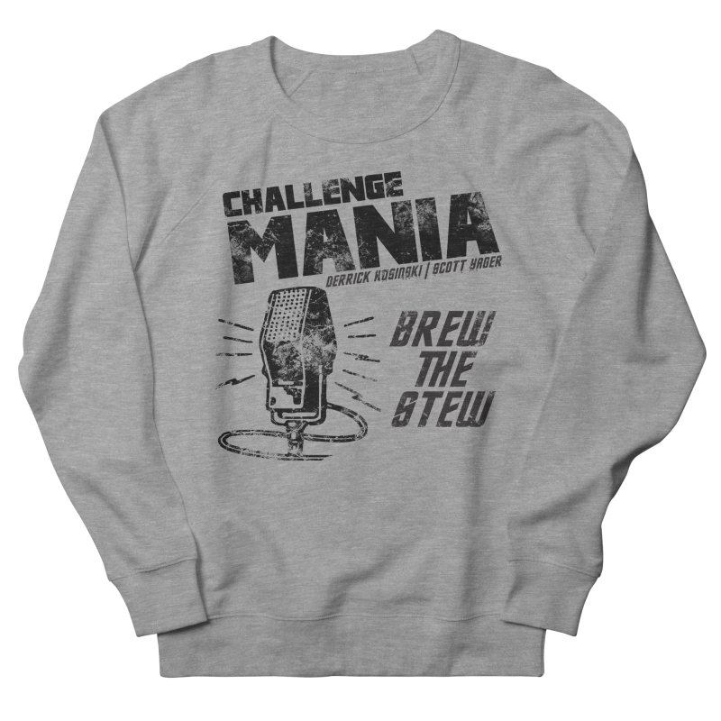 Challenge Mania Vintage (Black) Women's French Terry Sweatshirt by Challenge Mania Shop