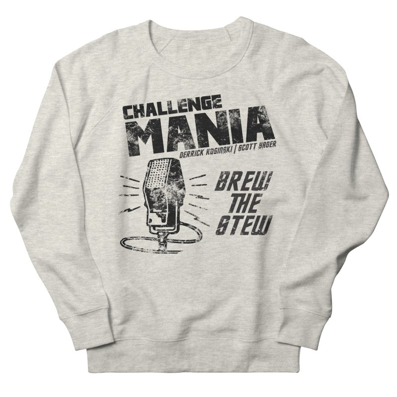 Challenge Mania Vintage (Black) Men's Sweatshirt by Challenge Mania Shop