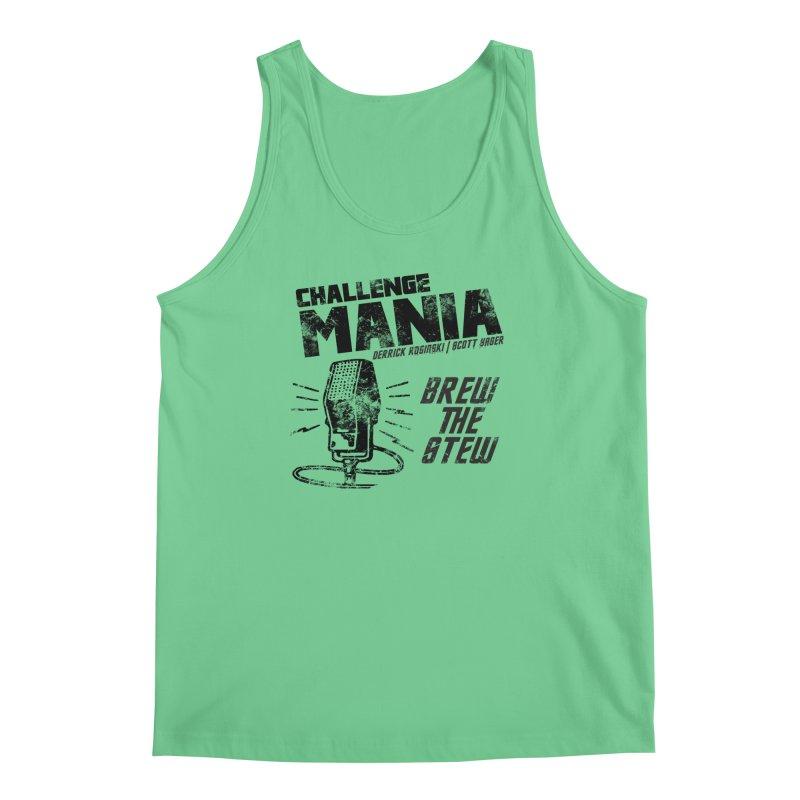 Challenge Mania Vintage (Black) Men's Regular Tank by Challenge Mania Shop