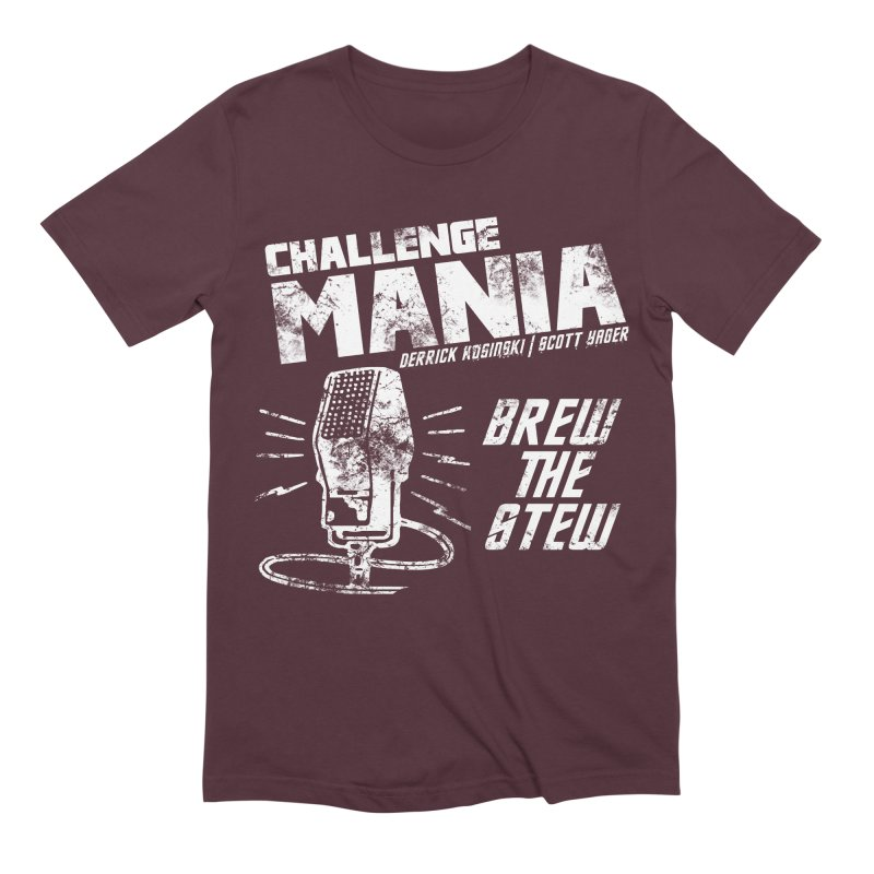 Challenge Mania Vintage (White) Men's Extra Soft T-Shirt by Challenge Mania Shop