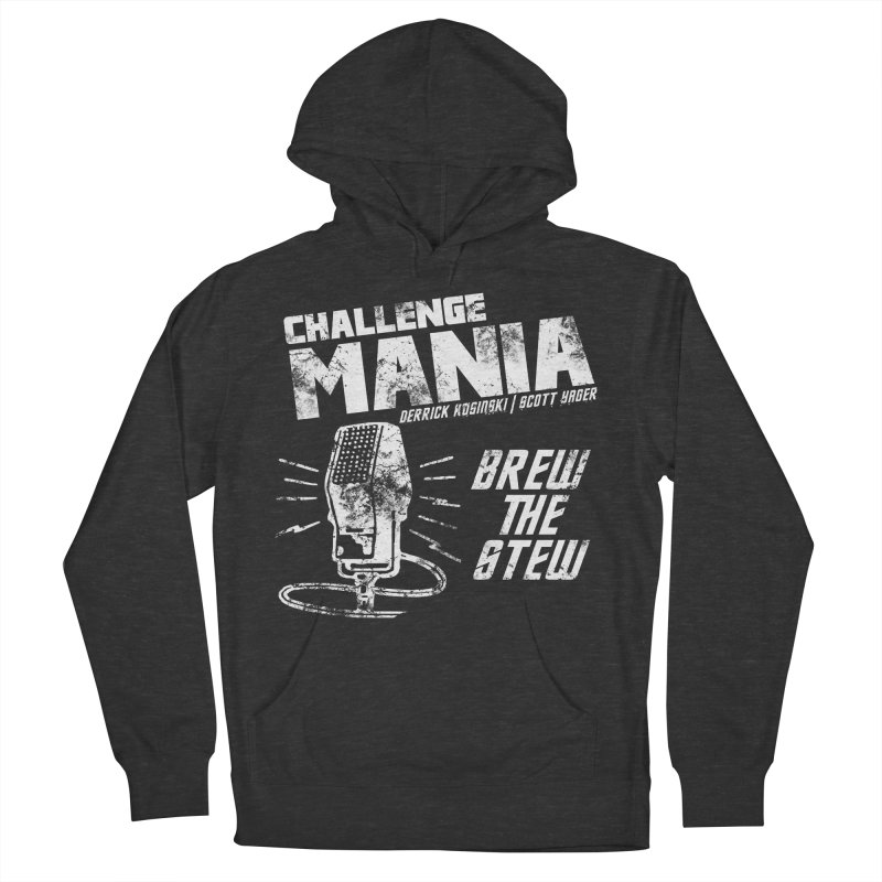 Challenge Mania Vintage (White) Women's French Terry Pullover Hoody by Challenge Mania Shop