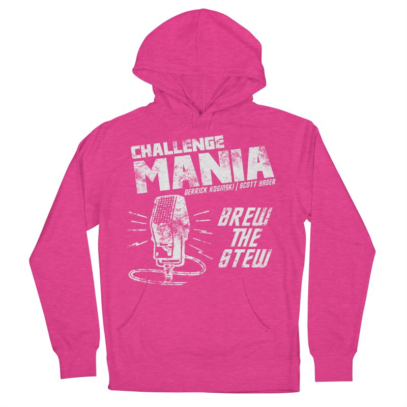Challenge Mania Vintage (White) Men's Pullover Hoody by Challenge Mania Shop