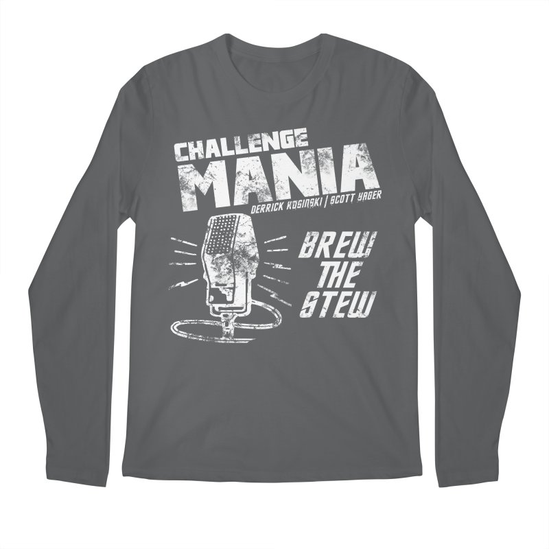 Challenge Mania Vintage (White) Men's Regular Longsleeve T-Shirt by Challenge Mania Shop