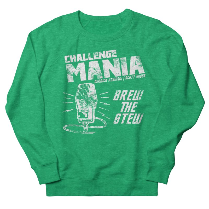 Challenge Mania Vintage (White) Men's French Terry Sweatshirt by Challenge Mania Shop