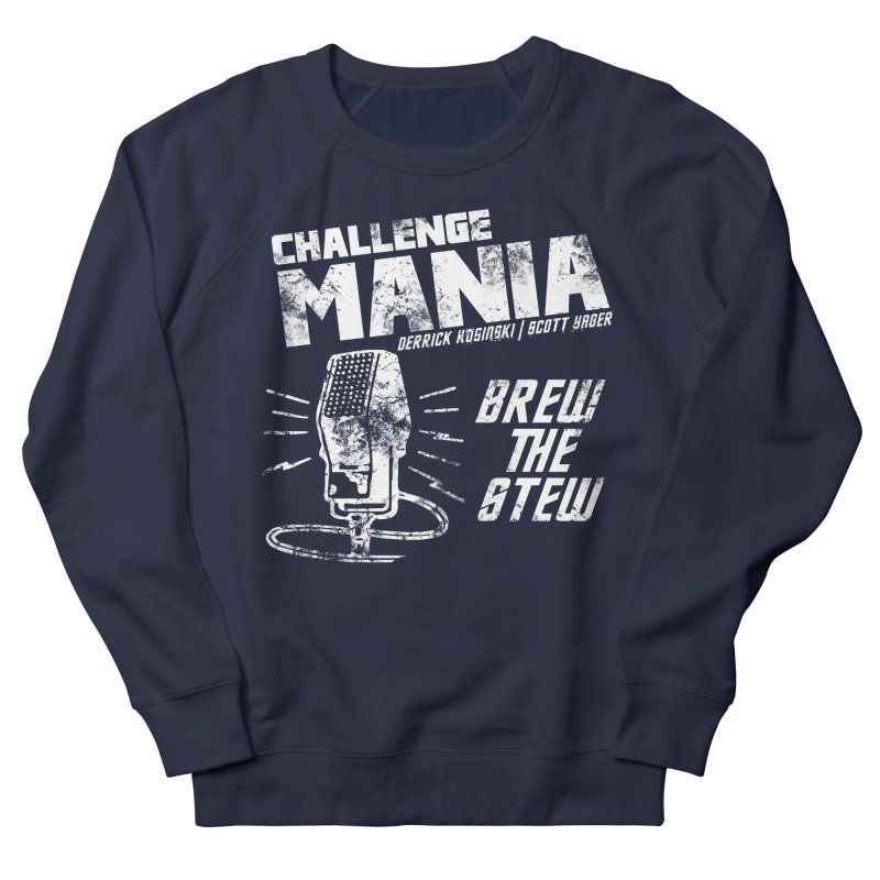 Challenge Mania Vintage (White) Men's Sweatshirt by Challenge Mania Shop