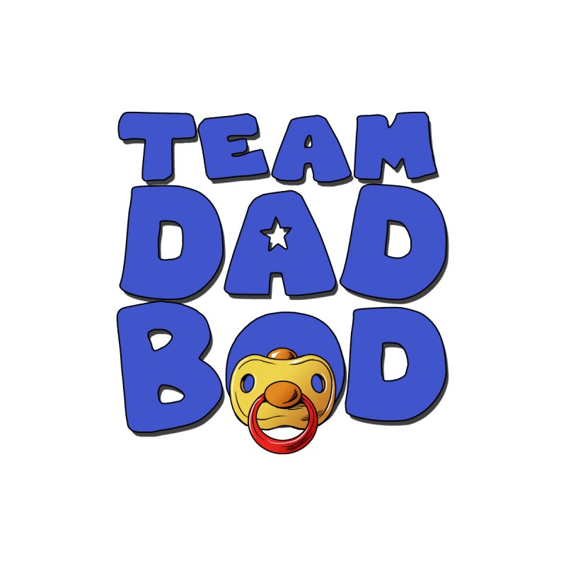 Team Dad Bod Men's T-Shirt by Challenge Mania Shop