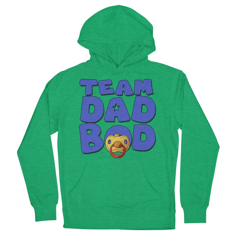 Team Dad Bod Men's French Terry Pullover Hoody by Challenge Mania Shop