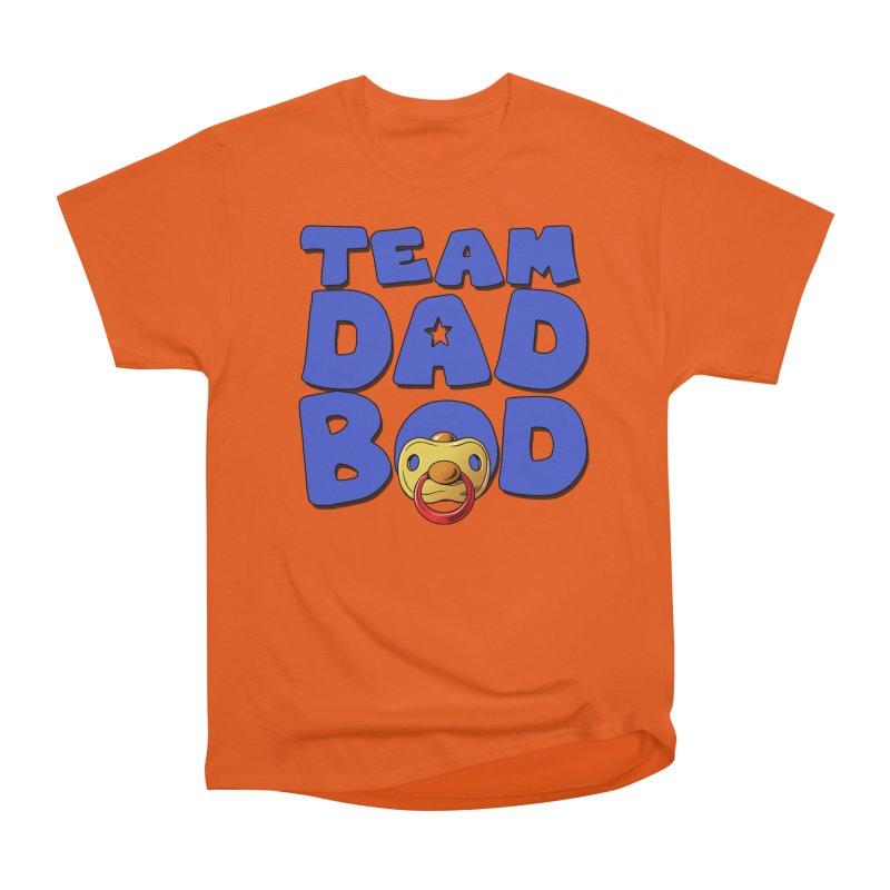 Team Dad Bod Men's T-Shirt by Challenge Mania Shop