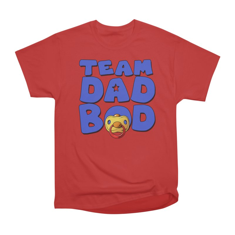 Team Dad Bod Women's Heavyweight Unisex T-Shirt by Challenge Mania Shop