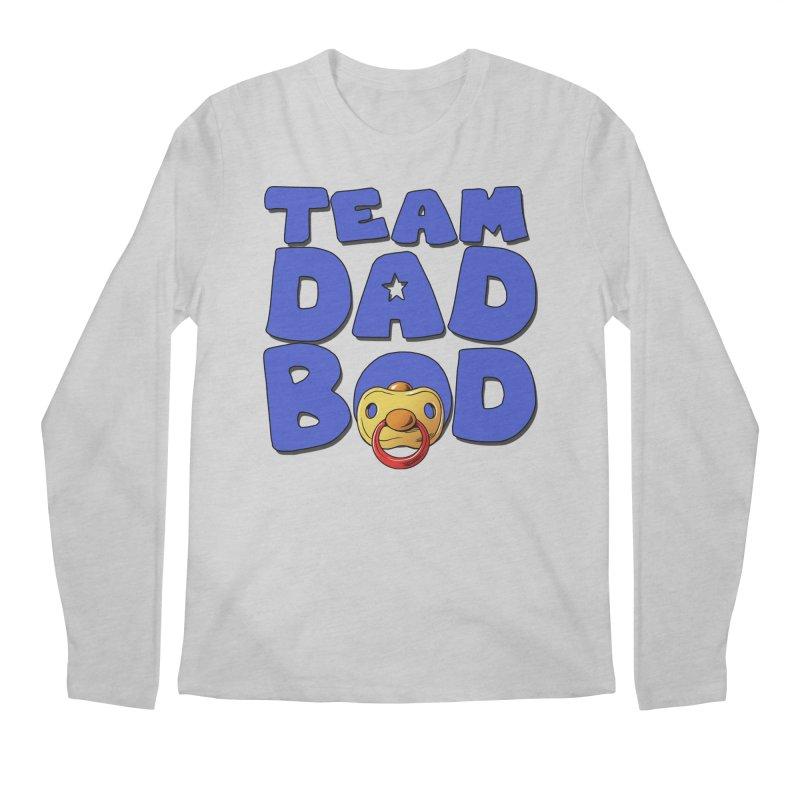 Team Dad Bod Men's Regular Longsleeve T-Shirt by Challenge Mania Shop