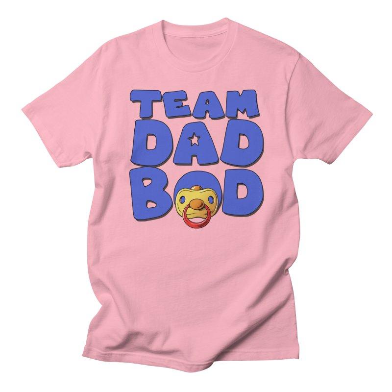 Team Dad Bod Women's Regular Unisex T-Shirt by Challenge Mania Shop