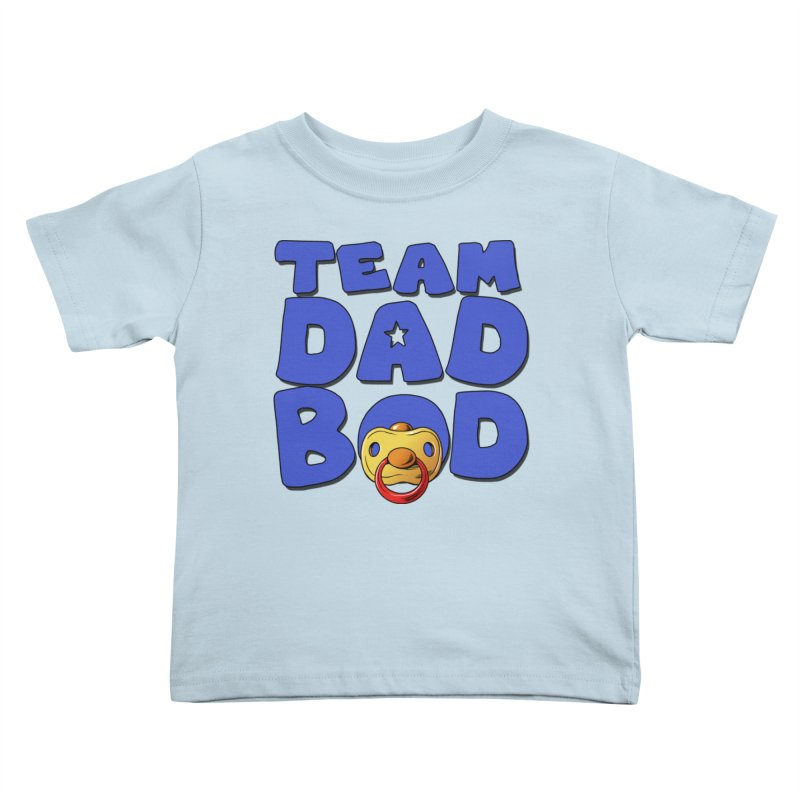 Team Dad Bod Kids Toddler T-Shirt by Challenge Mania Shop