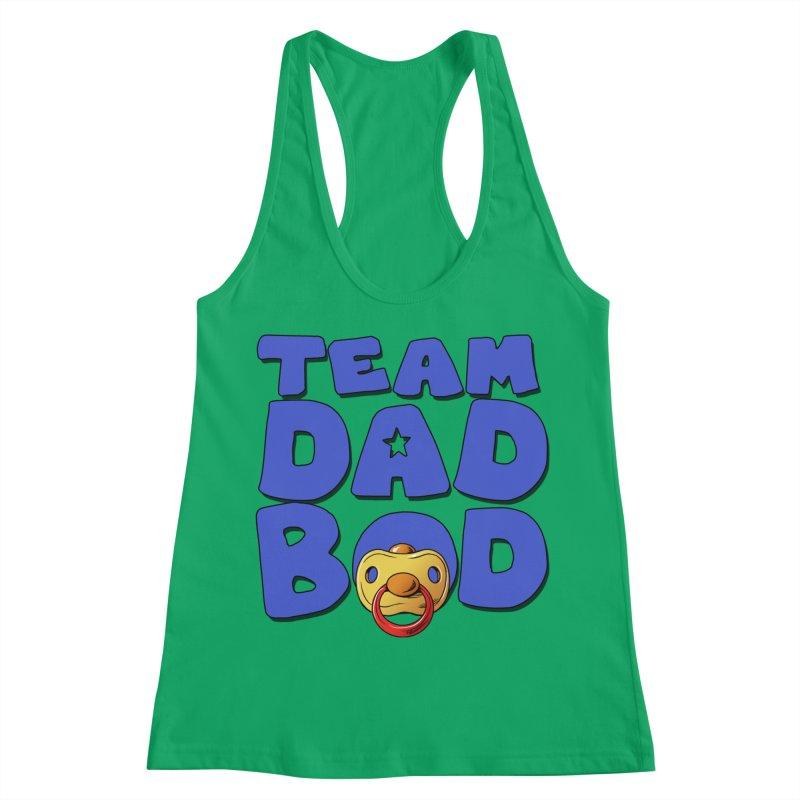 Team Dad Bod Women's Tank by Challenge Mania Shop