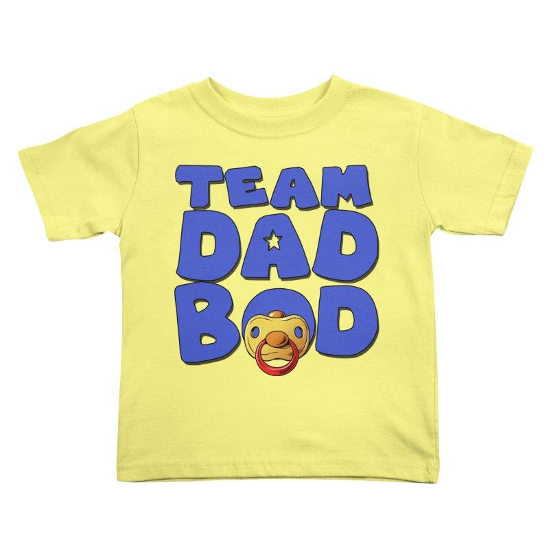 Team Dad Bod Kids Toddler T-Shirt by Challenge Mania Shop