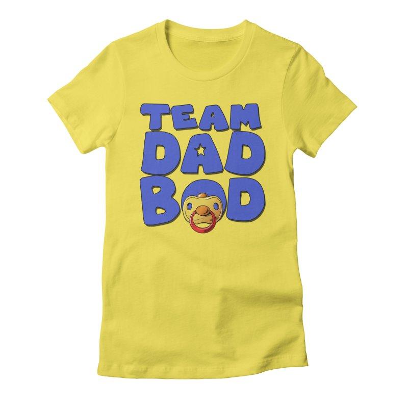 Team Dad Bod Women's T-Shirt by Challenge Mania Shop