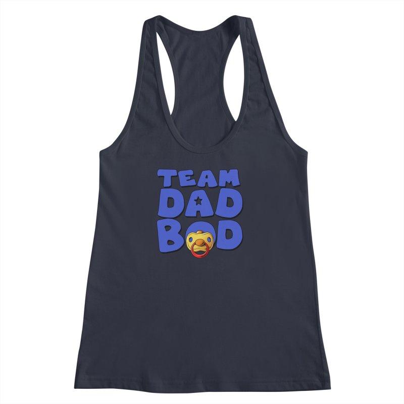 Team Dad Bod Women's Racerback Tank by Challenge Mania Shop