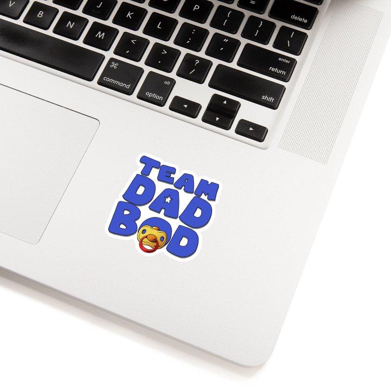 Team Dad Bod Accessories Sticker by Challenge Mania Shop