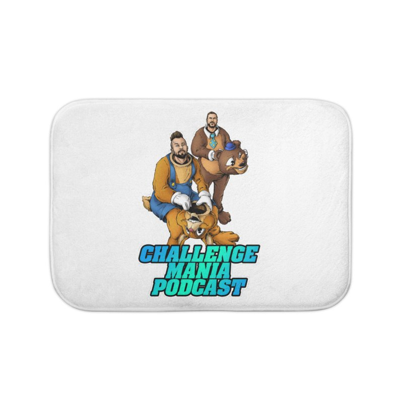 Character Lunch Break Home Bath Mat by Challenge Mania Shop