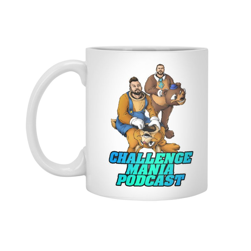 Character Lunch Break Accessories Standard Mug by Challenge Mania Shop