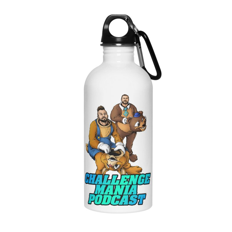 Character Lunch Break Accessories Water Bottle by Challenge Mania Shop