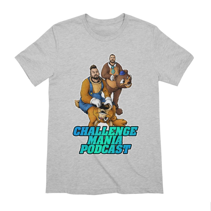 Character Lunch Break Men's Extra Soft T-Shirt by Challenge Mania Shop