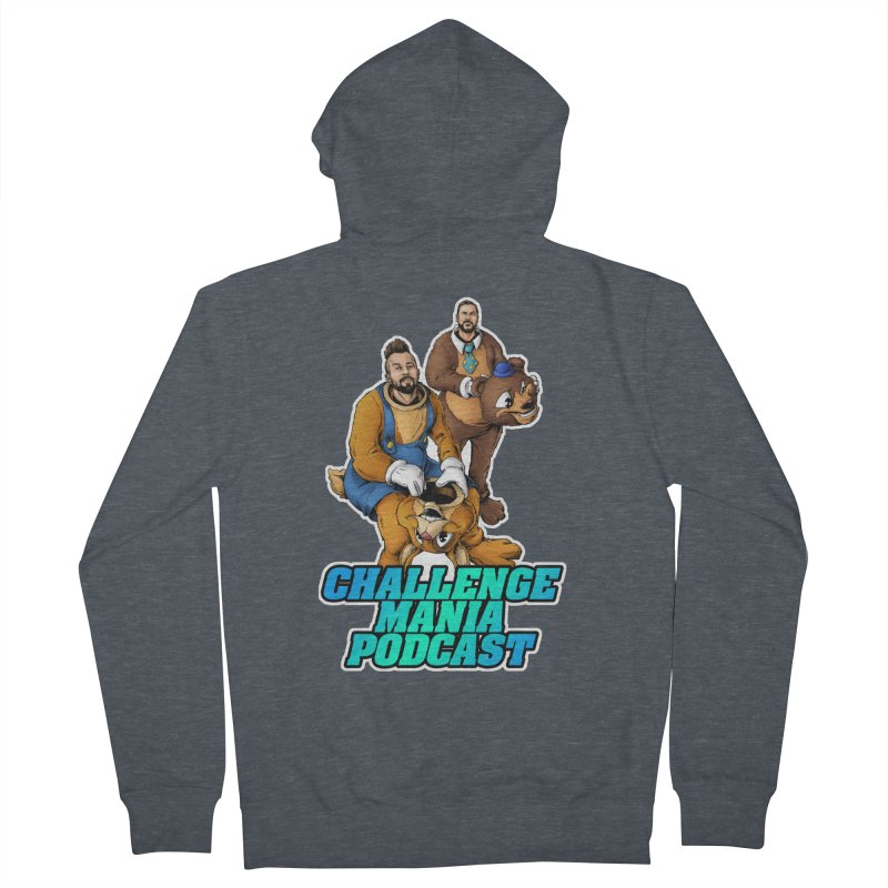 Character Lunch Break Women's French Terry Zip-Up Hoody by Challenge Mania Shop