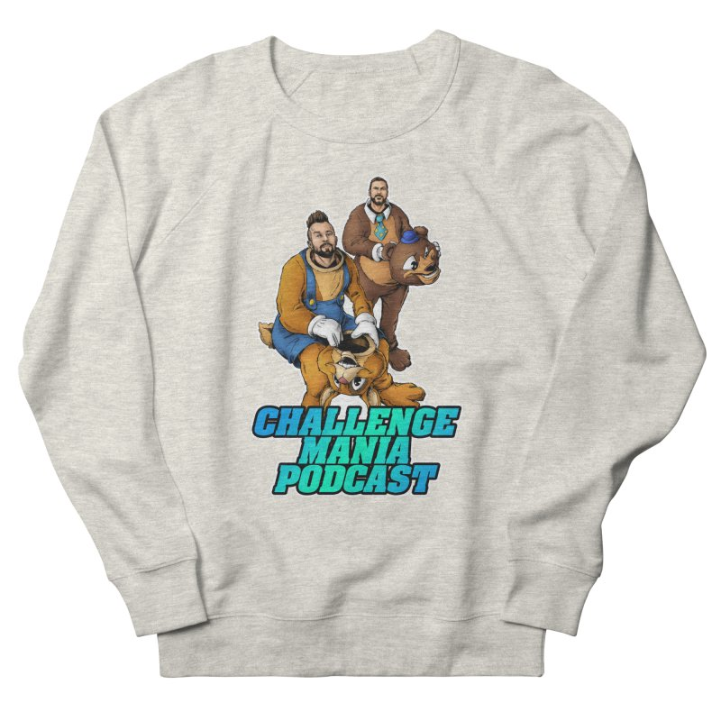 Character Lunch Break Women's French Terry Sweatshirt by Challenge Mania Shop